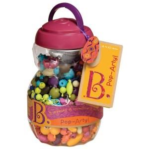 B.TOYS Beauty Pops - zestaw do tworzenia biżuterii - 500 elementów (Z1122)