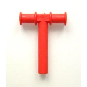 Tubka żuchwowa - czerwona (Z1156)