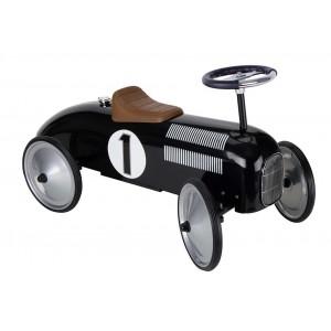 GOKI - Jeździk wyścigowy czarny retro (Z1200)
