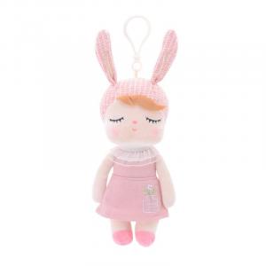 Metoo - lalka Angela 20 cm, Oryginalna, Atesty - różowa (Z1221)