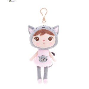 Metoo - lalka Cat mini Kotek 20 cm, Oryginalna, Atesty - żółta (Z1223)