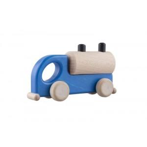 Lupo Toys - Drewniana cysterna niebieska (Z1267)