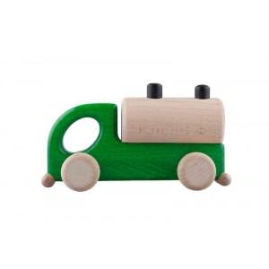 Lupo Toys - Drewniana cysterna - zielona (Z1268)