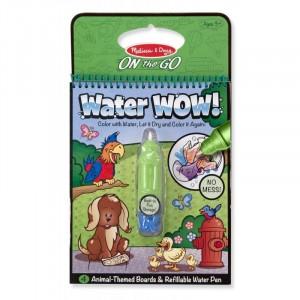 Melissa & Doug - Water Wow Wodna kolorowanka wielokrotnego użytku - Zwierzęta (Z1280)