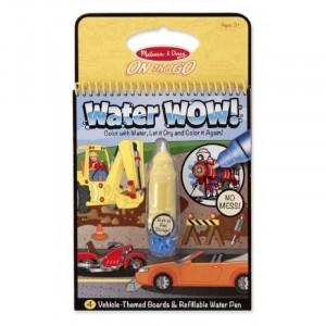 Melissa & Doug - Water Wow Wodna kolorowanka wielokrotnego użytku - Pojazdy (Z1281)