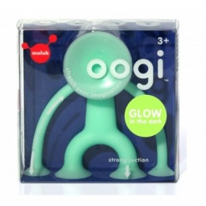 Zabawka kreatywna Oogi Junior Glow 8 cm - świecący w ciemności (Z1338)