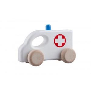 Lupo Toys - Drewniany ambulans (Z1388)