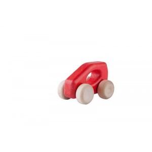 Lupo Toys - Drewniane autko Car A-Class czerwone (Z1392)