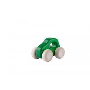 Lupo Toys - Drewniane autko Car F500 New zielone (Z1394)