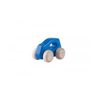 Lupo Toys - Drewniane autko Car F500 New niebieskie (Z1395)