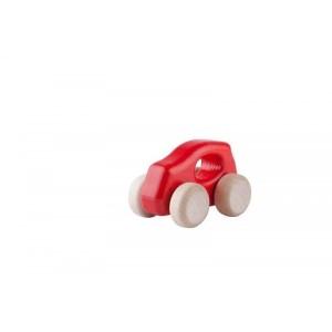 Lupo Toys - Drewniane autko Car F500 New czerwone (Z1396)