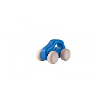 Lupo Toys - Drewniane autko Car F500 Old niebieskie (Z1399)