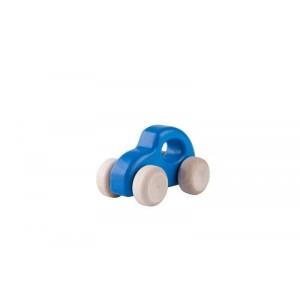 Lupo Toys - Drewniane autko Garbusso niebieskie (Z1403)