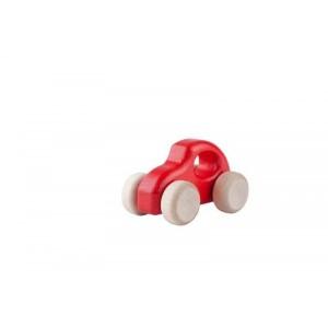Lupo Toys - Drewniane autko Garbusso czerwone (Z1404)