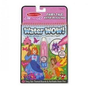 Melissa & Doug - Water Wow Wodna kolorowanka wielokrotnego użytku - Księżniczki (Z1406)