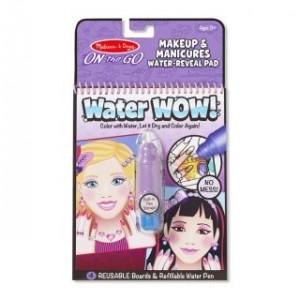 Melissa & Doug - Water Wow Wodna kolorowanka wielokrotnego użytku - Makijaż i Manicure (Z1407)