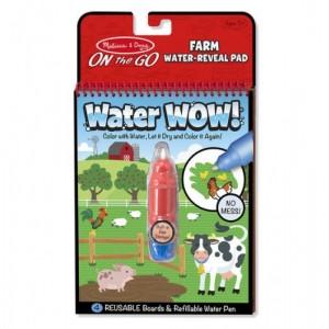 Melissa & Doug - Water Wow Wodna kolorowanka wielokrotnego użytku - Farma (Z1408)