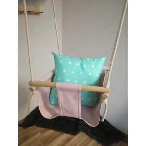 Huśtawka krzesełkowa - Jasny róż (Z1448)