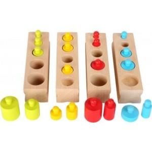 Small Foot Design - układanka odważniki Montessori (Z1556)