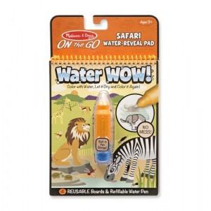 Melissa & Doug - Water Wow Wodna kolorowanka wielokrotnego użytku - Safari (Z1563)