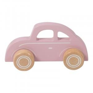 Little Dutch Drewniane autko Beetle - różowe (Z1610)