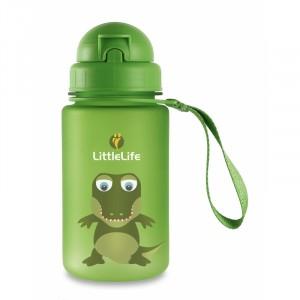 Little Life - Bidon z słomką Krokodyl 400 ml (Z1637)