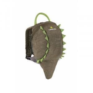 Plecak Little Life z odpinaną smyczą 1-3 lata  - Krokodyl (Z1640)