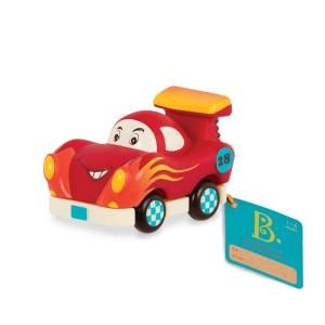 B.Toys - miękkie autko Mini-wheels - Wyścigówka na napęd (Z1677)