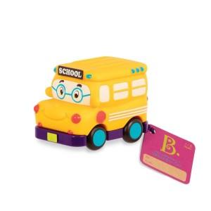 B.Toys - miękkie autko Mini-wheels - Autobus szkolny (Z1681)