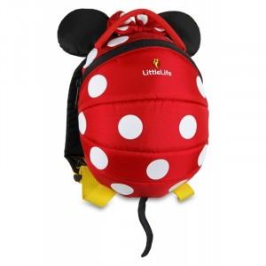 Plecak Little Life Disney z odpinaną smyczą 1-3 lata  - Myszka Minnie (Z1686)