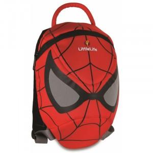 Plecak Little Life z odpinaną smyczą 1-3 lata  - Spiderman (Z1688)