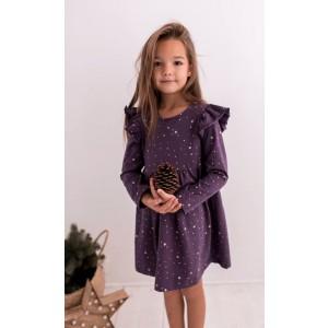 Sukienka bawełniana Lily Grey gwiadki (Z1794)