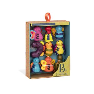 B.Toys Snug Bugs - Wesołe owady - zestaw sensoryczny (Z1800)