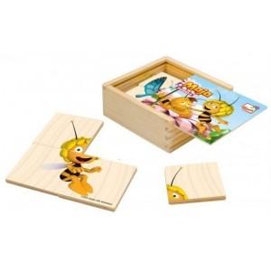 Bino - Maja puzzle drewniane dla najmłodszych (Z1807)