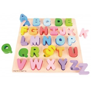 Bigjigs - puzzle drewniane Alfabet (Z1816)