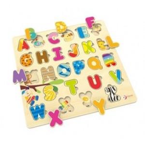Classic World - puzzle drewniane Alfabet (Z1829)