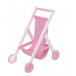 Lelin Drewniany wózek spacerówka dla dzieci (Z1901)