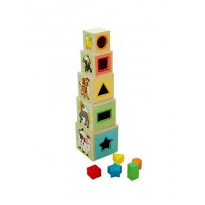 Woody - drewniana wieża z sorterem (Z1904)