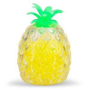 Gniotek ananas do ściskania z kuleczkami Jellyball 11 cm (Z1920)