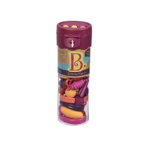 B.TOYS Beauty Pops - zestaw do tworzenia biżuterii koraliki - 50 elementów (Z3187)