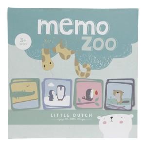 Little Dutch - Gra memory ZOO (Z2038)