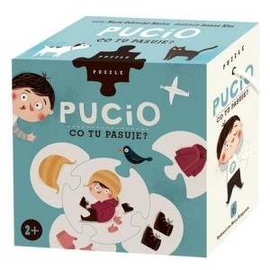 Puzzle Pucio - Co tu pasuje? (Z2054)