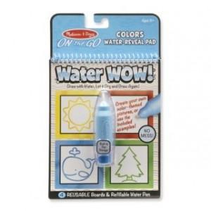Melissa & Doug - Water Wow Wodna kolorowanka wielokrotnego użytku - kształty (Z2071)