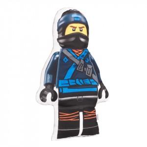 Poduszka maskotka Lego Ninjago granatowy+minky szary (Z2062)