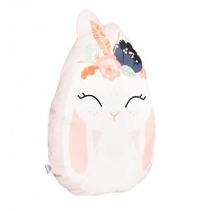 Poduszka maskotka welurowa króliczek boho (Z2065)