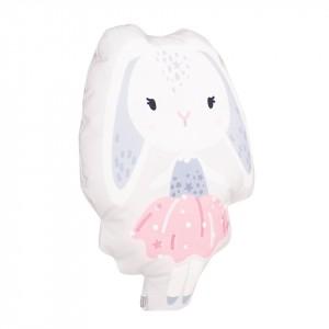 Poduszka maskotka welurowa króliczek (Z2066)