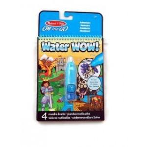 Melissa & Doug - Water Wow Wodna kolorowanka wielokrotnego użytku - Przygoda (Z2085)