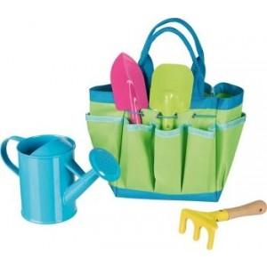 GOKI - zestaw narzędzi ogrodnika w torbie (Z2086)