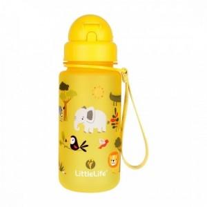Little Life - Bidon z słomką Safari 400 ml (Z2093)