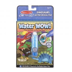 Melissa & Doug - Water Wow Wodna kolorowanka wielokrotnego użytku - Dinozaury (Z2096)